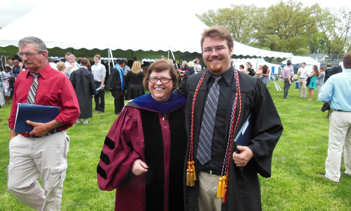 Anthropology graduates and faculty 2015