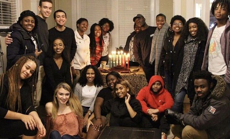 BSU celebrates Kwanzaa typically at our last meeting of the Fall Semester