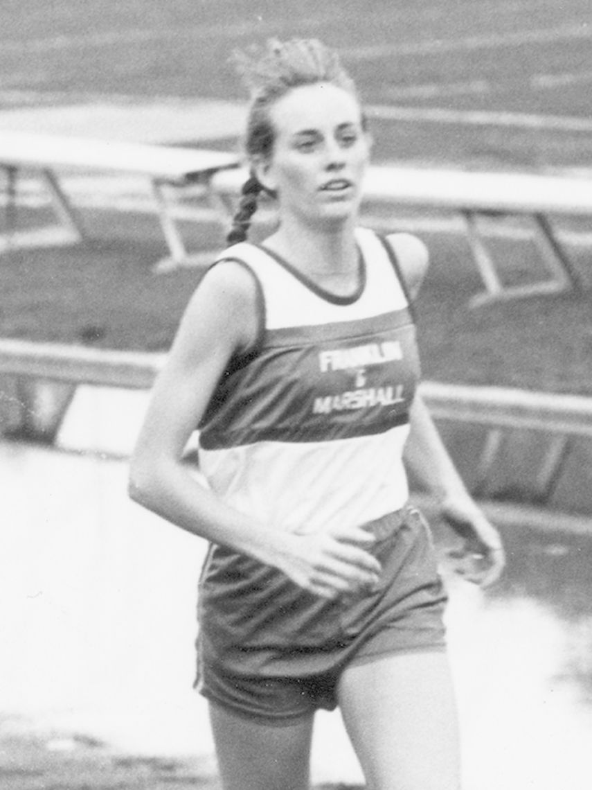 Denise Paull was the first female student to win All American honors in cross country, in 1982. Paull accomplished that feat three times. She was also a three time Middle Atlantic Conference champion and two time regional champion.