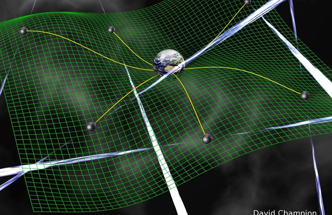 Astronomers predict that gravitational waves are made from large-scale cosmic events or are relics from the period just after the Big Bang when the universe expanded rapidly from a minuscule volume in a tiny fraction of a second.