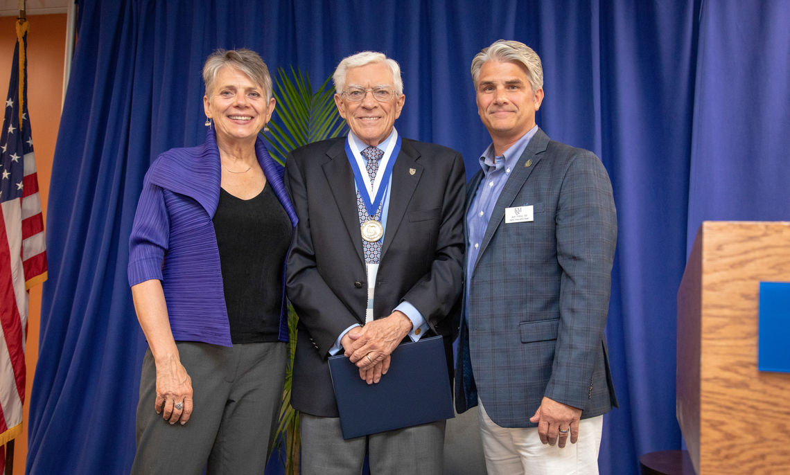 Nevonian Induction Medalist