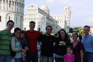 Last year's participants visited Pisa.