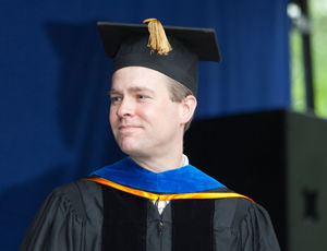 Rob Jinks, associate professor of biology and chair of the Biology Department