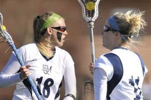 Division III Players of the Year Shannon Summers '09 and Jen Pritchard '09