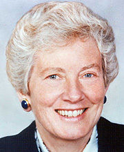 """Mary Patterson """"Pat"""" McPherson, Ph.D. (courtesy of the American Philosophical Society)"""