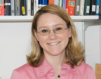 Emily Huber, assistant professor of English