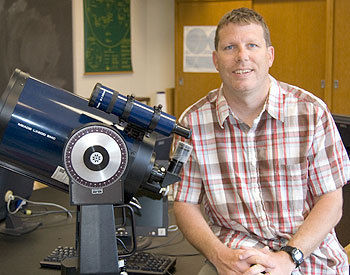 Fronefield Crawford, assistant professor of astronomy at Franklin & Marshall College