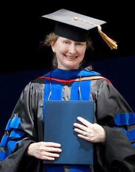 Dorothy Merritts, professor of geosciences and chair of environmental studies