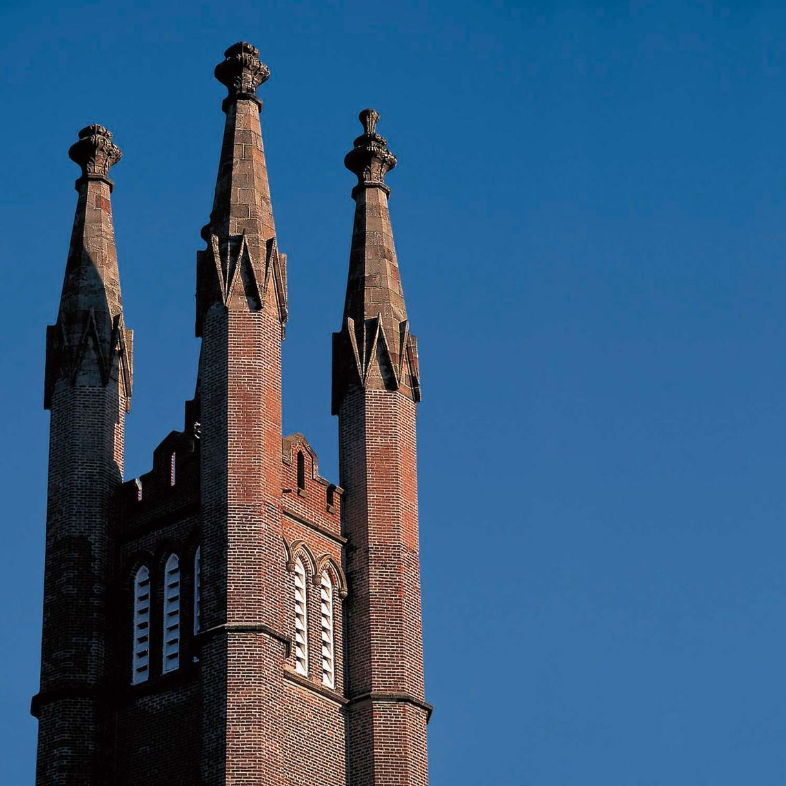 old main spires