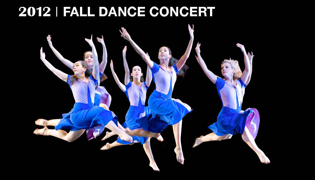 2012 fall dance poster