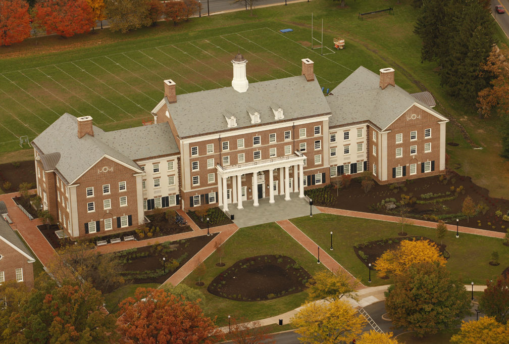 New College House aerial