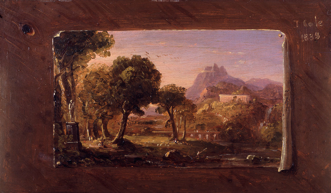 Hudson River School exhibit