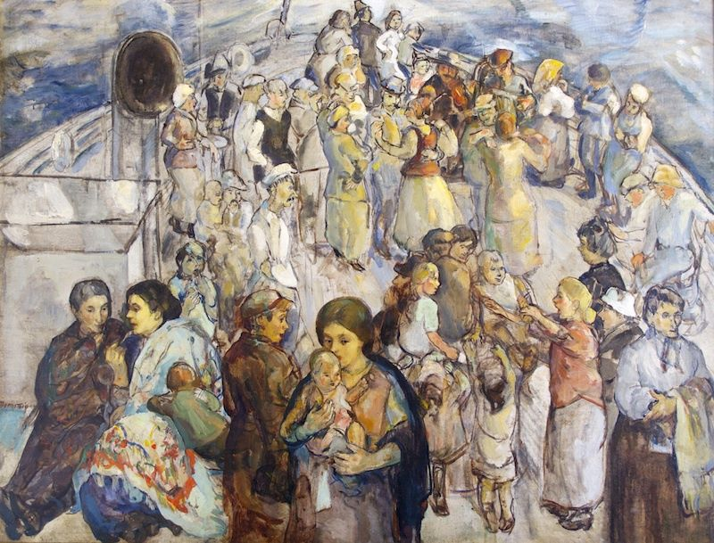 Theresa Bernstein 1923 the immigrants