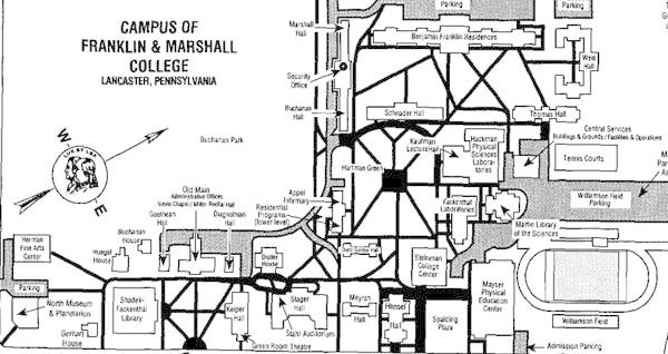 Franklin Marshall Bibliography And Campus Map
