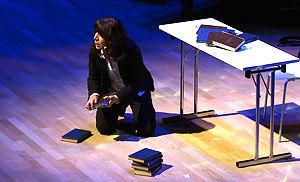 Syrian theater director and human rights activistNaila Al Atrash.