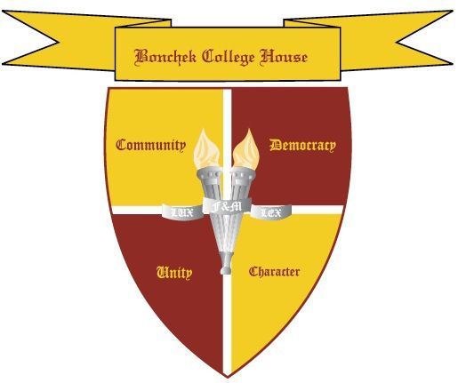 house crests: bonchek college house