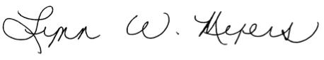 lynn myers signature