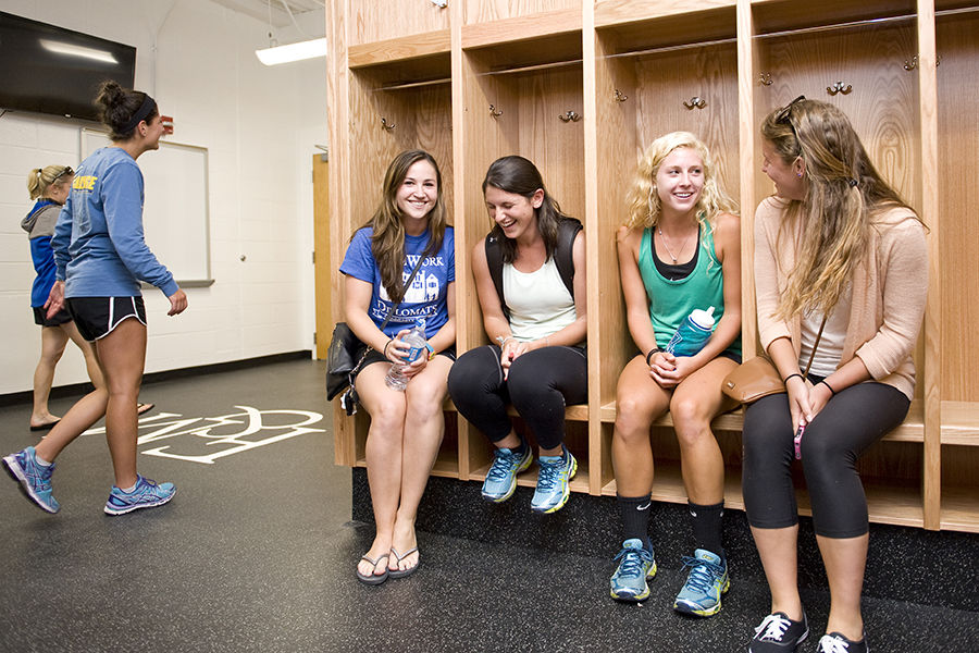 mayser locker rooms