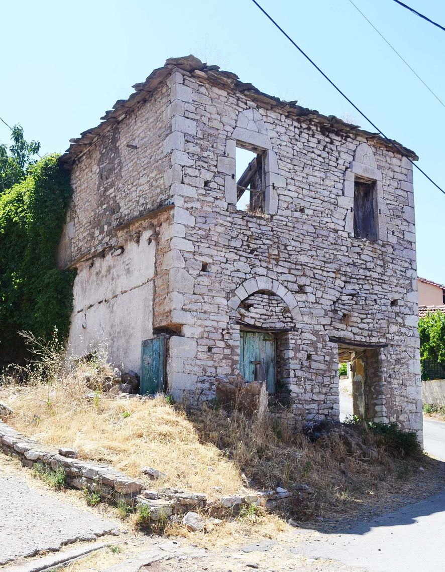 A 19th century Greek House in the village of Neda that was eventually demolished after F&M Assistant Professor of Art History Kostis Kourelis took this photo in 2012.
