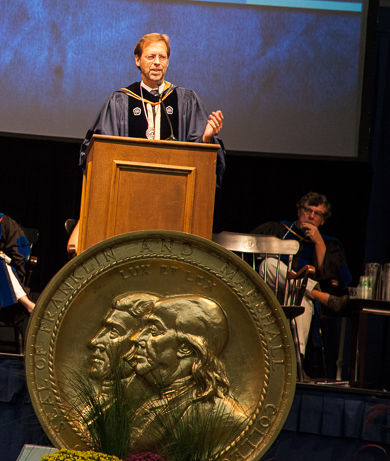 Daniel Porterfield Convocation 2014